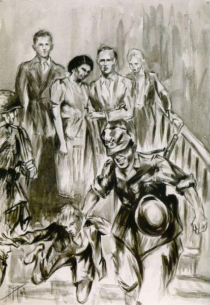 Disegno di Aldo Gay