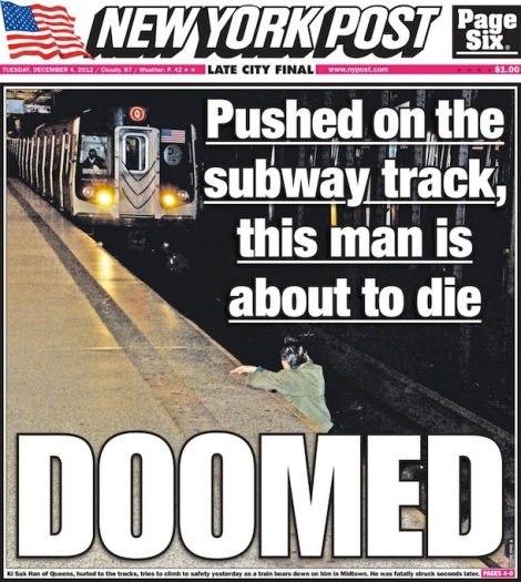 new york post doomed