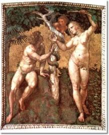 raphael-santi-adam-and-eva-stanza-della-segnatura
