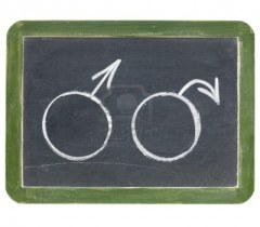 10743763-andropausa-menopausa-maschile-o-un-problema-concetto-di-erezione--due-simboli-genere-maschile-in-ges