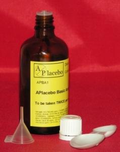 Metti il placebo nell'armadietto dei medicinali