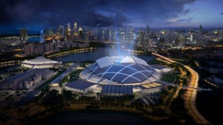 Leisure-Led Development – Singapore Sports Hub (Singapore), Singapore Sports Hub Design Team (DP Architects and Arup associates)